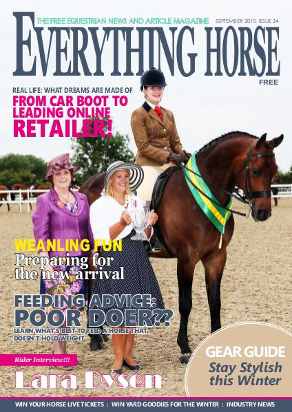 Everything Horse magazine Everything Horse magazine, September 2015