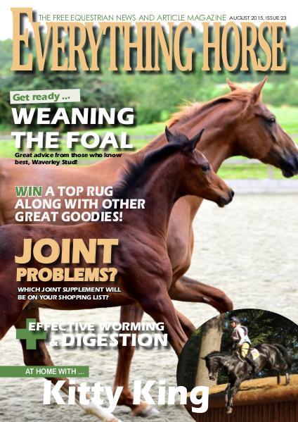 Everything Horse magazine, August 2015