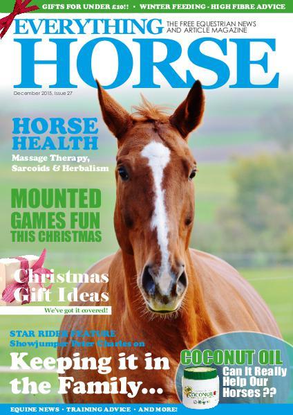 Everything Horse Magazine, December 2015