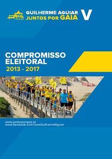 Guilherme Aguiar - Juntos por Gaia - Compromisso Eleitoral