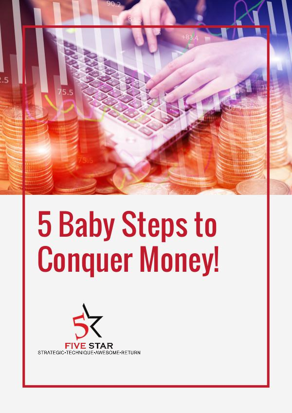 5 baby step 5 Baby Steps to Conquer Money!