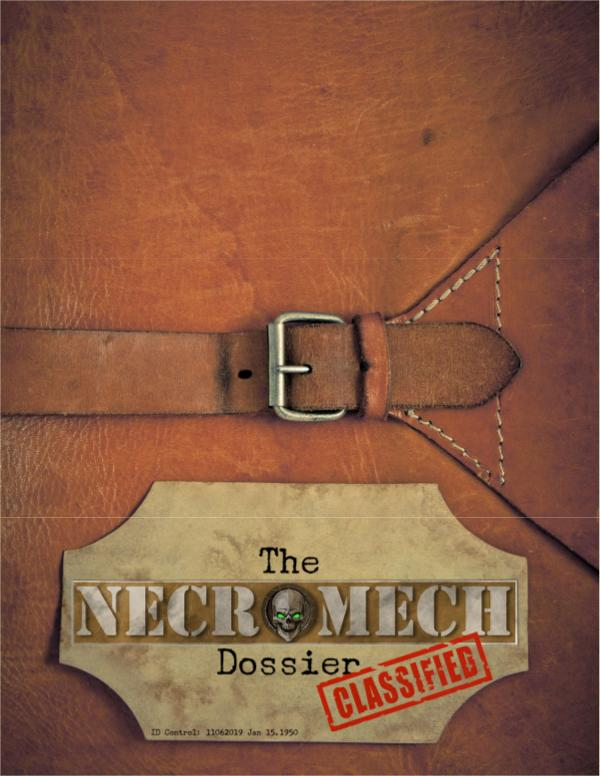 The NecroMech Dossier Core Manual November 2019