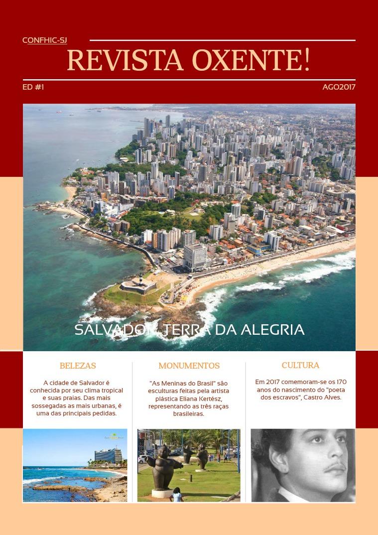 OXENTE! Revista OXENTE! Revista