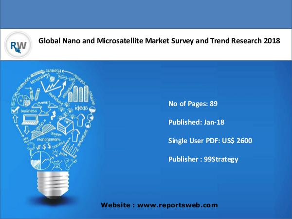 Nano and Microsatellite Market Emerging Trends