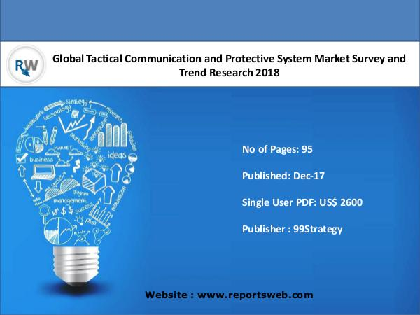 Tactical Communication and Protective System 2018