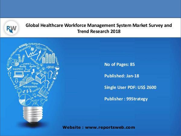 Healthcare Workforce Management System Market 2018