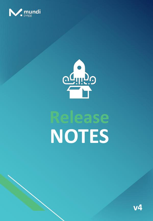 Release Notes Release Notes nº4 - 11.10