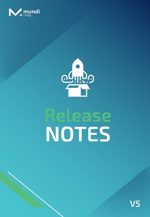 Release Notes Release Notes nº5 -16 .11