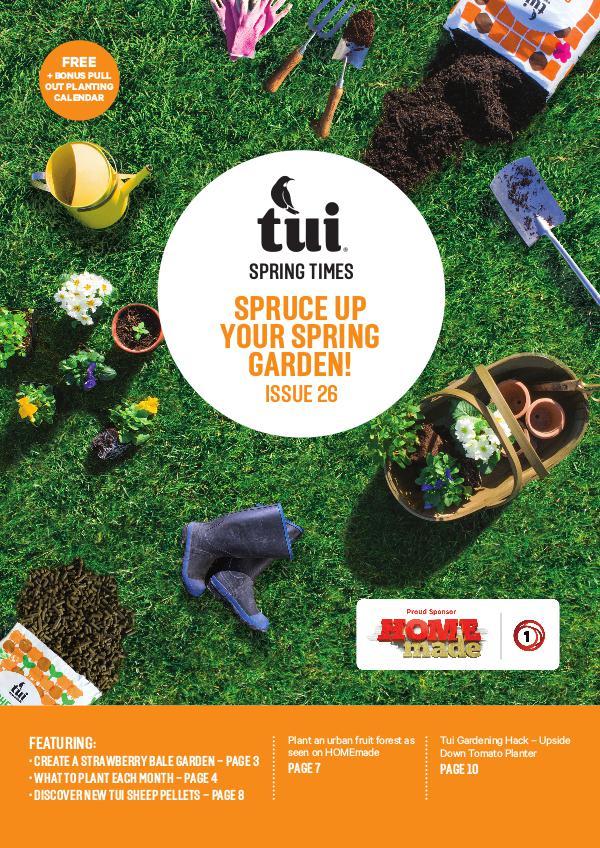 Tui Spring Times Magazine 2017 Tui Spring Times 2017
