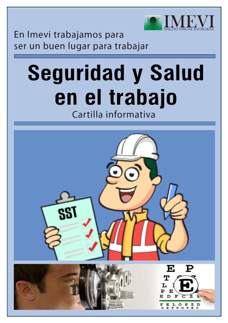 Cartilla de Seguridad y Salud en el Trabajo IMEVI No1