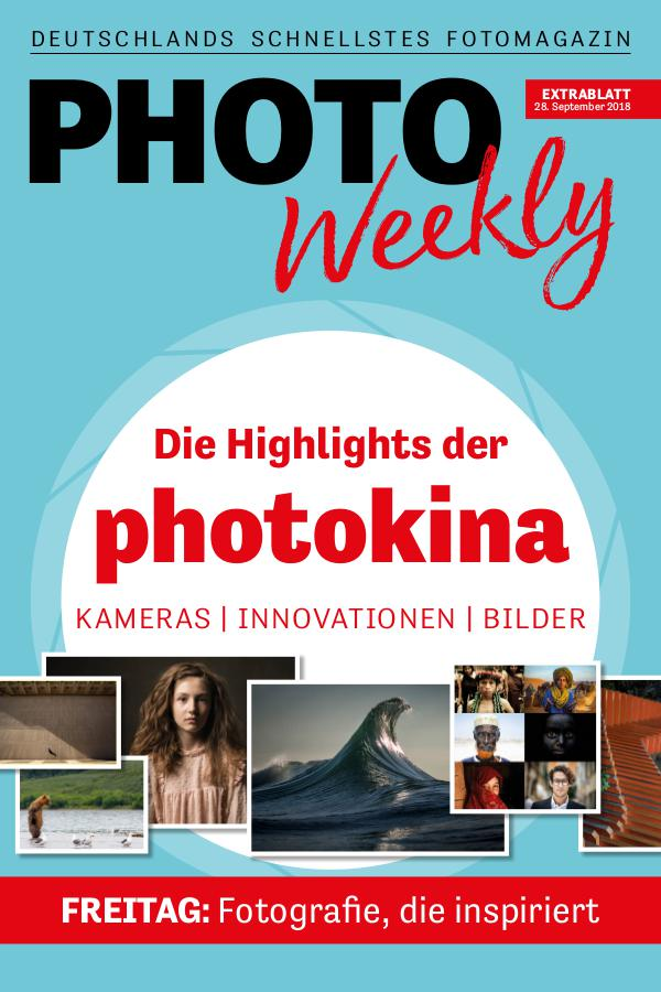 PhotoWeekly Extrablatt photokina 28.9.18