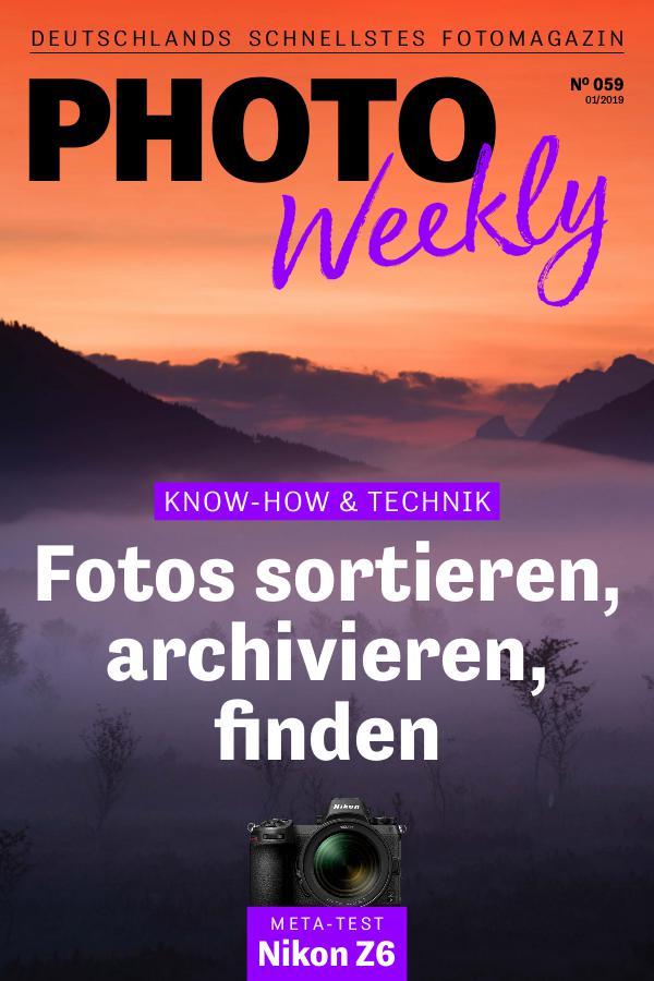 PhotoWeekly 01/2019