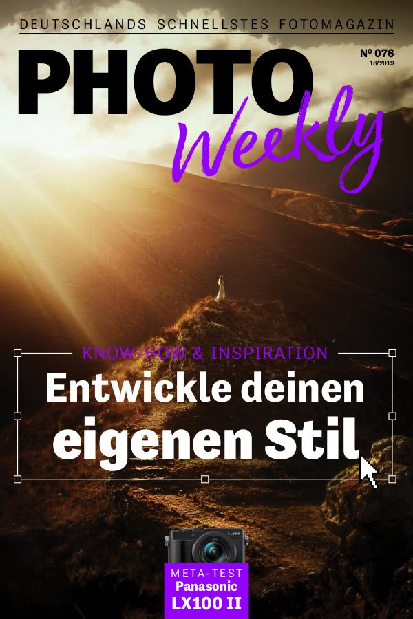 PhotoWeekly 01.05.2019