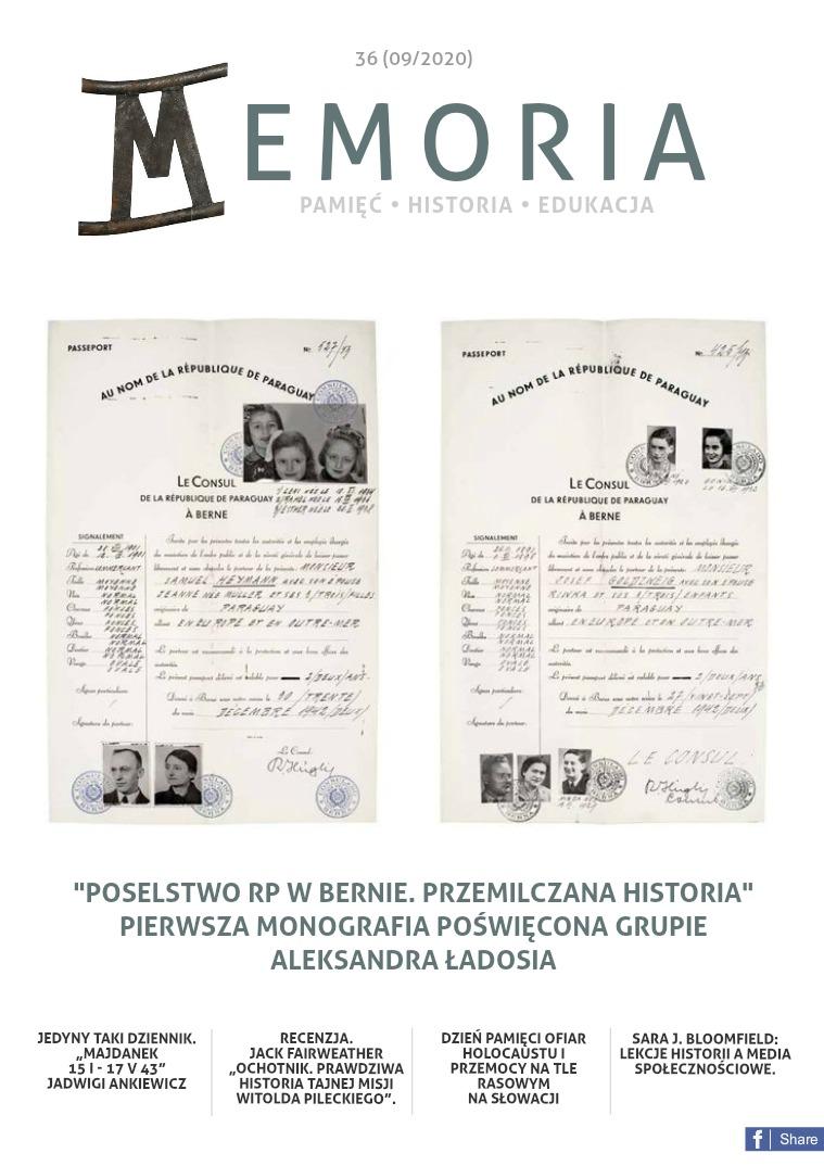 Memoria [PL] Nr 36 (09/2020)