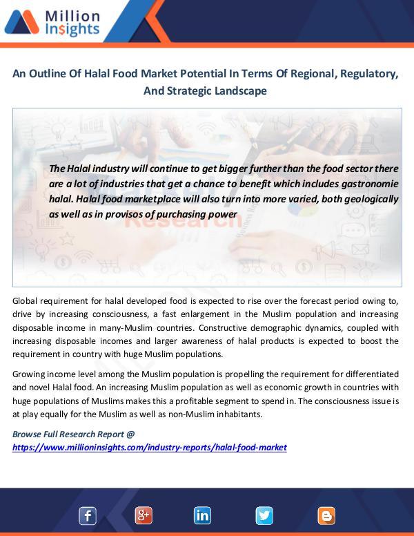 Market News Today An Outline Of Halal Food Market