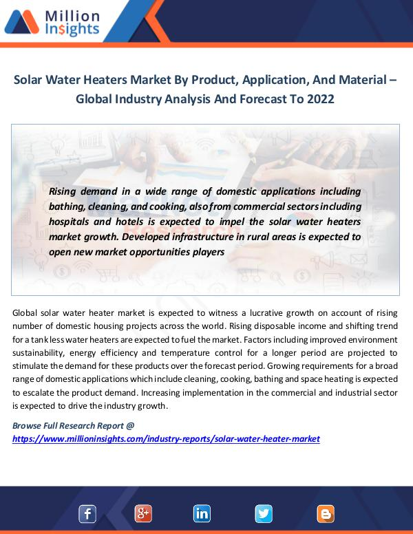 Solar Water Heaters Market
