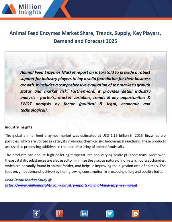 Animal Feed Enzymes Market