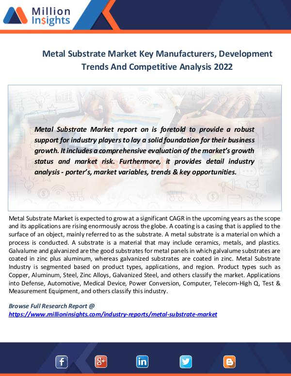 Metal Substrate Market