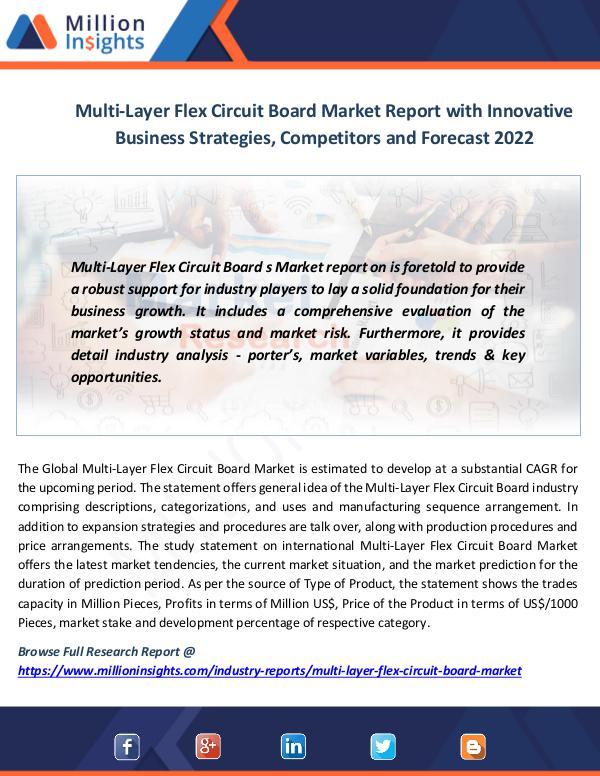 Multi-Layer Flex Circuit Board Market