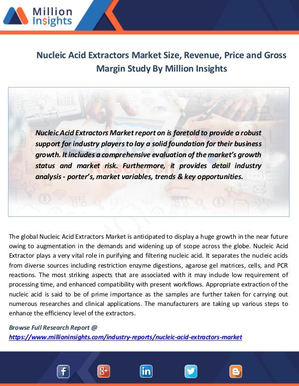Nucleic Acid Extractors Market