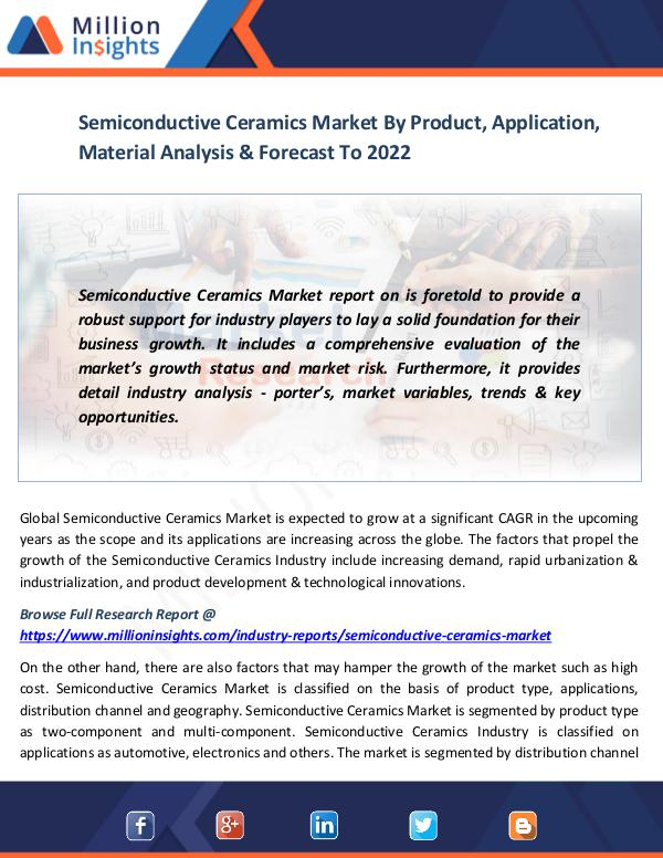 Semiconductive Ceramics Market