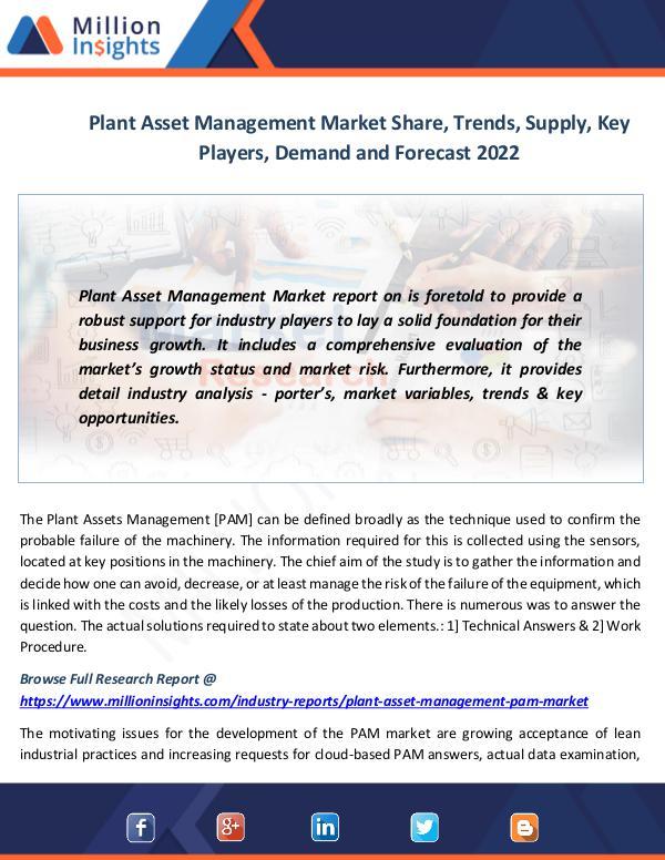 Plant Asset Management Market