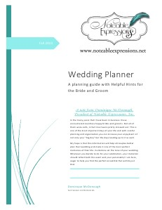 Noteable Expressions Wedding Guide volume 1