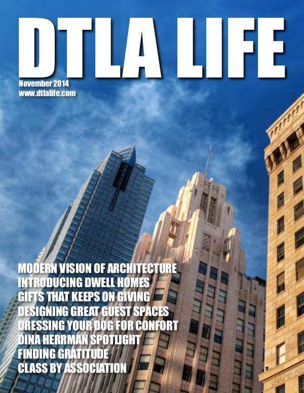 DTLA LIFE MAG #11 | NOVEMBER 2014