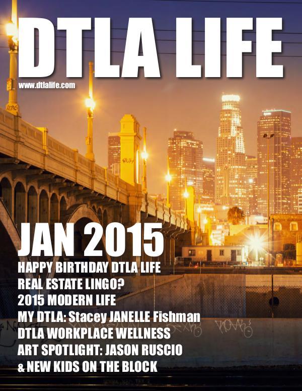 DTLA LIFE MAG #13 | JANUARY 2015