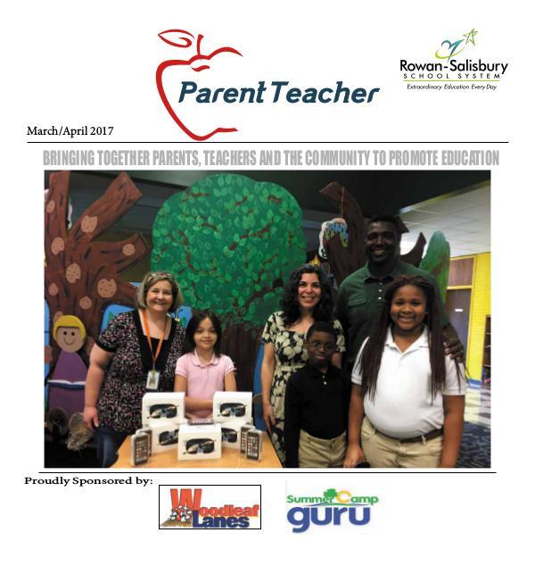 Parent Teacher Magazine Rowan-Salisbury Schools March/April 2017