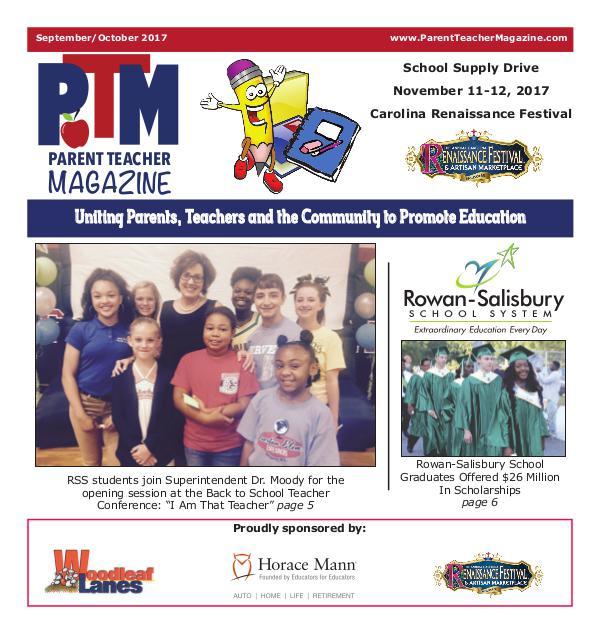Parent Teacher Magazine Rowan-Salisbury Schools September 2017