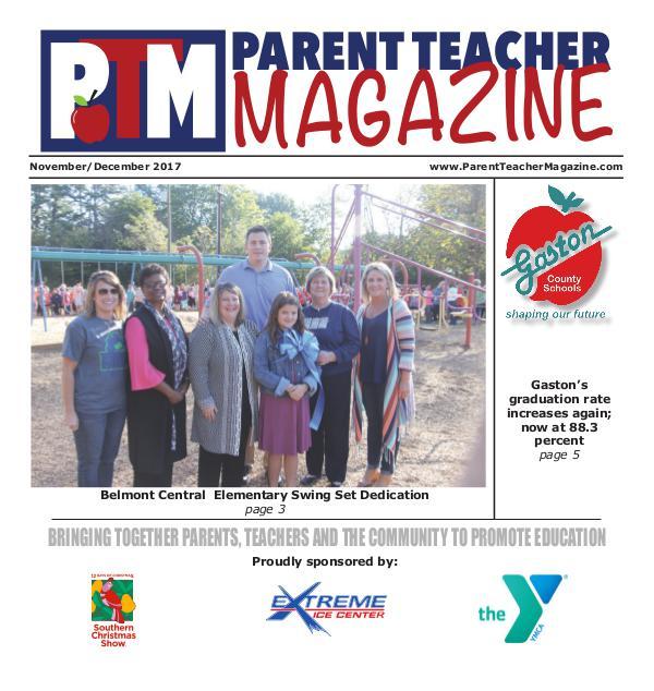 Parent Teacher Magazine Gaston County Schools Nov/Dec 2017