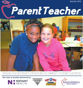 Parent Teacher Magazine Rowan-Salisbury School November 2013