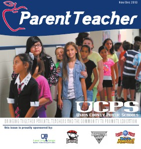 Parent Teacher Magazine Union County Public Schools November 2013