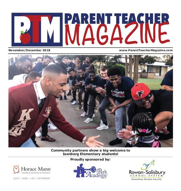 Parent Teacher Magazine Rowan-Salisbury Schools Nov/Dec 2018