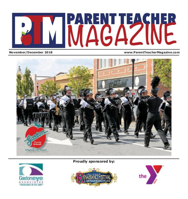 Parent Teacher Magazine Gaston County Schools Nov/Dec 2018