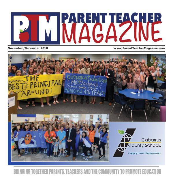Parent Teacher Magazine Cabarrus County Schools Nov/Dec 2018