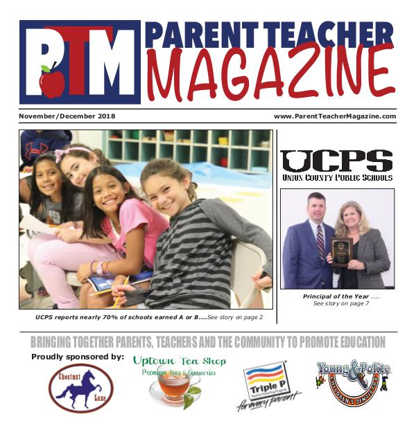 Parent Teacher Magazine Union County Public Schools September 2017