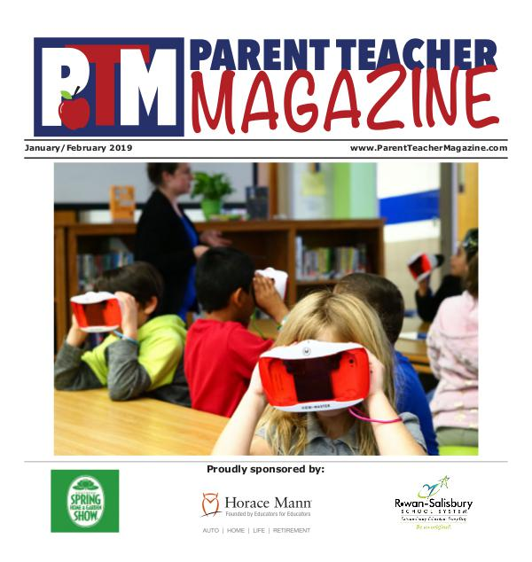 Parent Teacher Magazine Rowan-Salisbury Schools January/February 2019