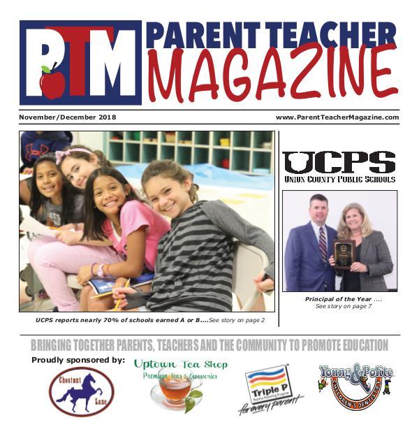 Parent Teacher Magazine Union County Public Schools Jan/Feb 2019