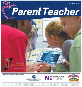 Parent Teacher Magazine Cabarrus County School January 2014