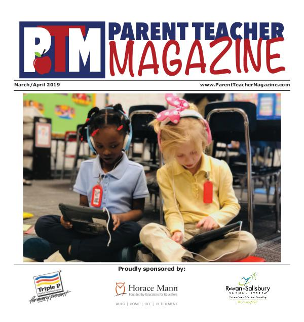 Parent Teacher Magazine Rowan-Salisbury Schools March/April 2019