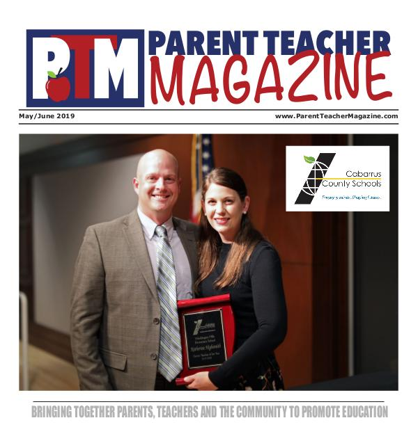 Parent Teacher Magazine Cabarrus County Schools May/June 2019