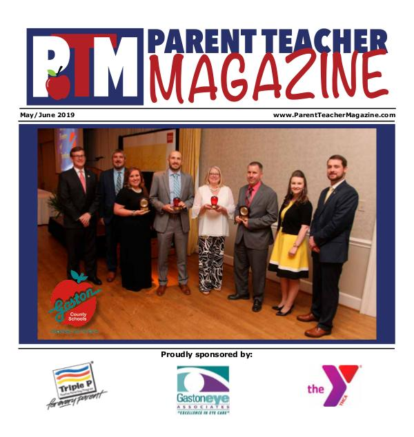 Parent Teacher Magazine Gaston County Schools May/June 2019