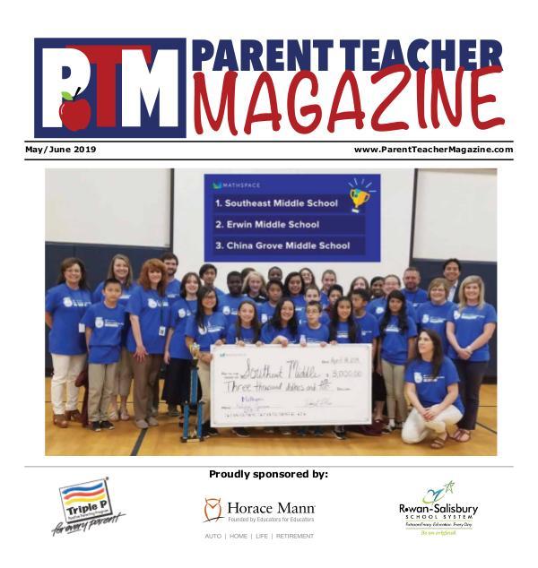 Parent Teacher Magazine Rowan-Salisbury Schools May/June 2019