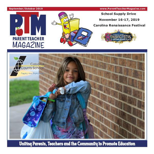 Parent Teacher Magazine Cabarrus County Schools Back to School Issue!!