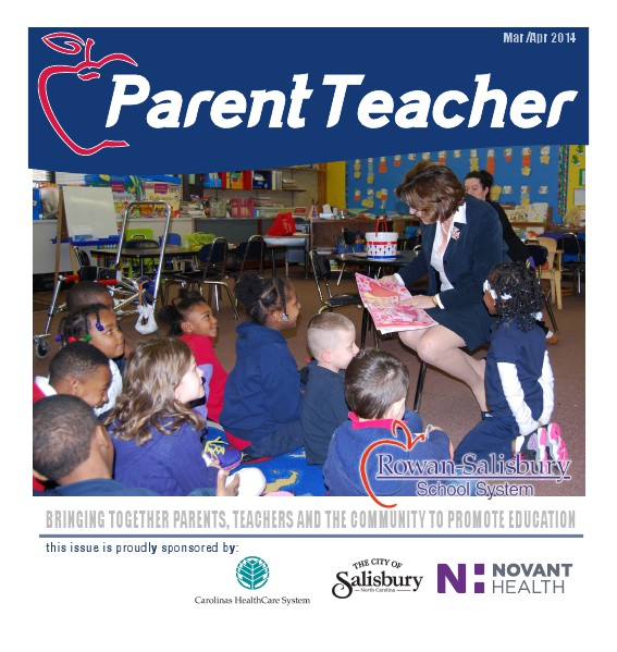 Parent Teacher Magazine Rowan Salisbury Schools March 2014