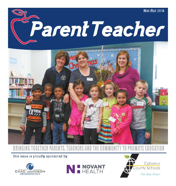 Parent Teacher Magazine Cabrrus County Schools March 2014