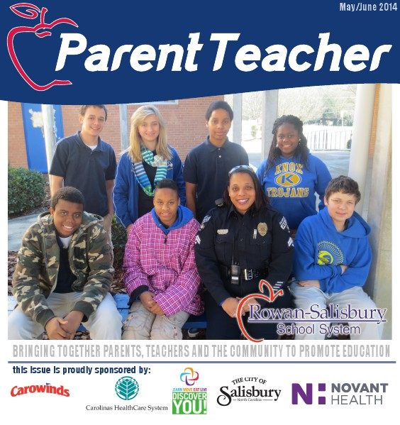 Parent Teacher Magazine Rowan Salisbury Schools May 2014