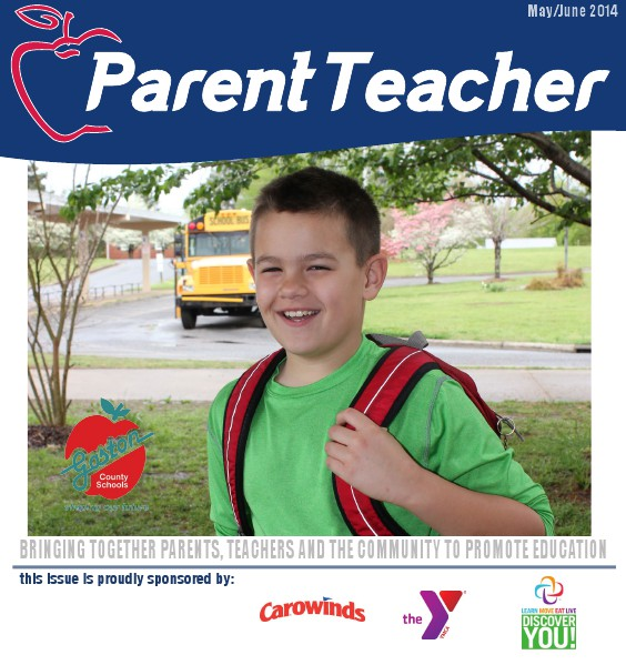 Parent Teacher Magazine Gaston County Schools May 2014